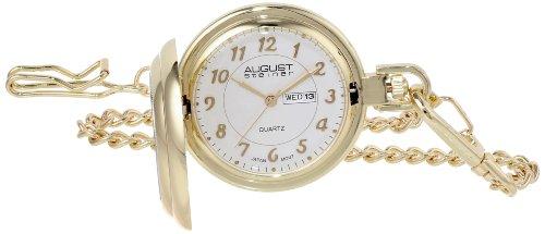 - August Steiner AS8019 JFK Coin Quartz Pocket Watch