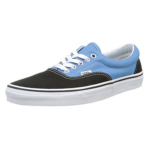 c8d0b723445c Galleon - Vans Unisex Era (Canvas) Black Cendre Blu Skate Shoe 6 Men US 7.5 Women  US