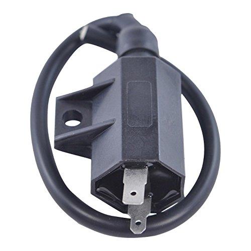 External Ignition Coil for Kawasaki KLF 220 250 400 KVF 300 360 KFX700 1988-2012 | OEM Repl.# 21121-1160/21121-1198/21121-1316 ()