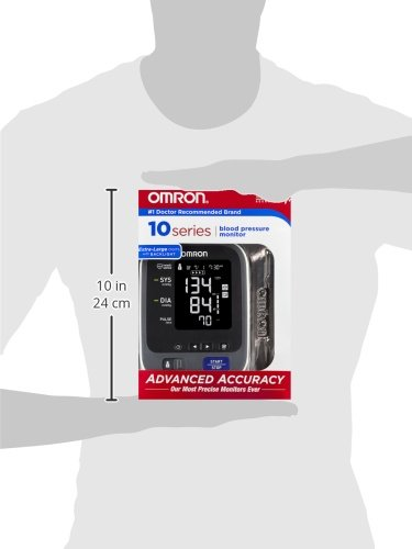 Omron 10 Arm Blood Monitor with Standard and