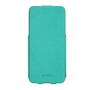 Mini - WZT75 EXCO Ultrathin Color Leather Case for iPhone5/5s Color: Blue