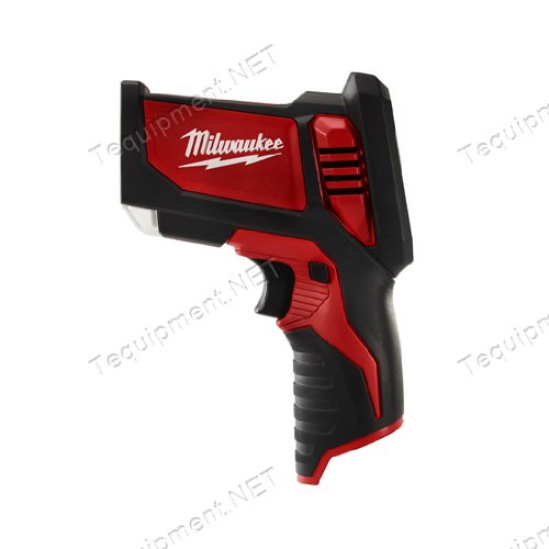 Milwaukee 2276-20 M12 Laser Temp Gun, Tool Only by Milwaukee