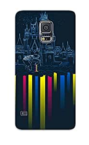 Hot Design Premium YEsZwYC4643zmbgb Tpu Case Cover Galaxy S5 Protection Case(predator Vs Human Stalemate)
