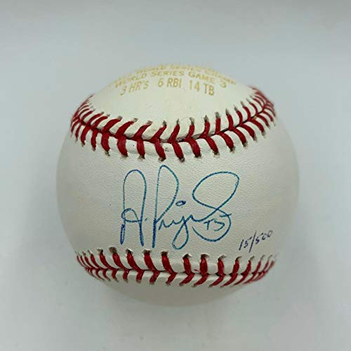 Albert Pujols Autographed Baseball - Rare 3 Home Runs 2011 World Series - PSA/DNA Certified - Autographed Baseballs (Albert Pujols 3 Home Runs World Series)