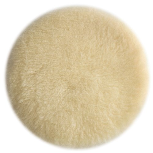 PORTER-CABLE 18007 6-Inch Lambs Wool Hook and Loop Polishing Pad ()