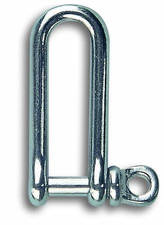 Chapuis MLI4 - Grillete largo (acero inoxidable, 45 kg ...