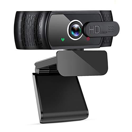 🥇 eztechny 1080P Webcam para PC