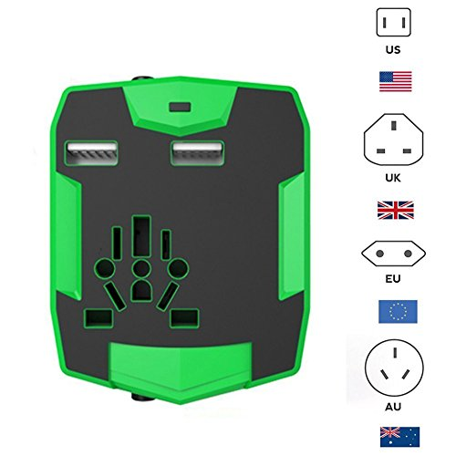 Upgrated Travel Adapter International accessories