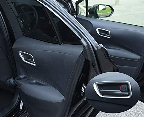 Tirador de Puerta para Corolla pl/ástico ABS, 4 Unidades Corolla Touring Sports E210 2019 HIGH FLYING