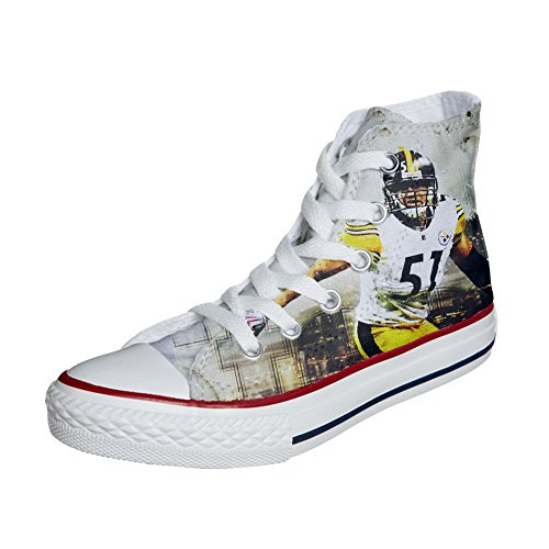Converse Customized Chaussures Coutume (produit artisanal) Football Americano