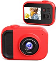 Kids Camera for Girls and Boys, Kids Digital Camera 2.0 Inches Screen 24MP 1080P Video Camcorder Mp3 Games Chi