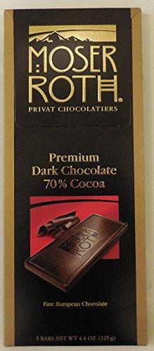 Moser Roth 70%cocoa Premium Dark Chocolat