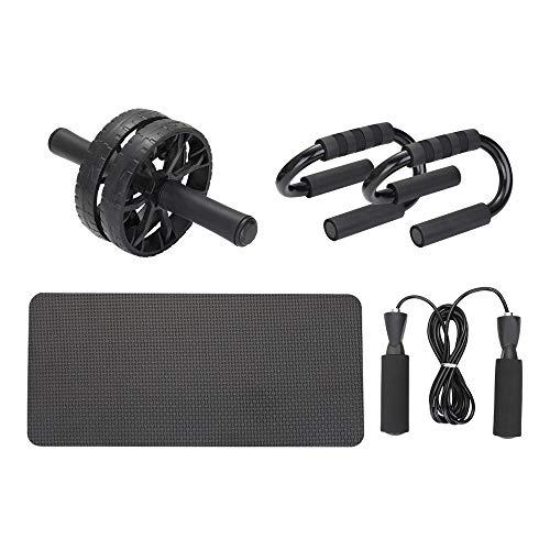 🥇 TOMSHOO Rueda Abdominales Fitness Kit