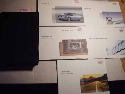 2006 Audi A6 MMI infotainment Owners Manual