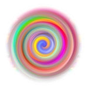 alfombrilla de ratón ilustración de Mandala abstracta - ronda - 20cm
