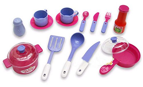 Deluxe Beauty Kitchen Cooking Play Set