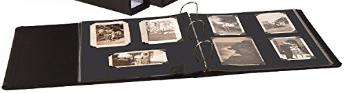 Gaylord Archival 1 1/2'' D-Ring Photo Album Kit - Black Mounting Pages by Gaylord Archival