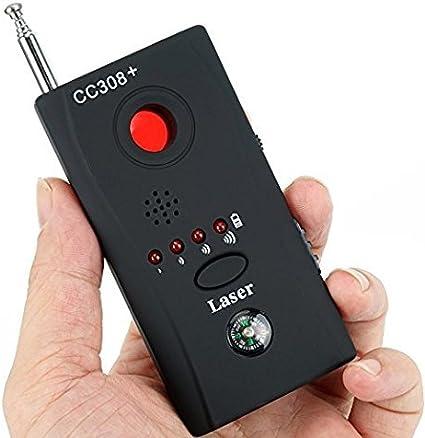 Rilevatore di Spionaggio Portatile Rilevatore di Telecamere Wireless RF Rilevatore di Segnali GSM Rilevatore di Dispositivi Bug Mini Rilevatore di Segnale GPS Spia Nascosta