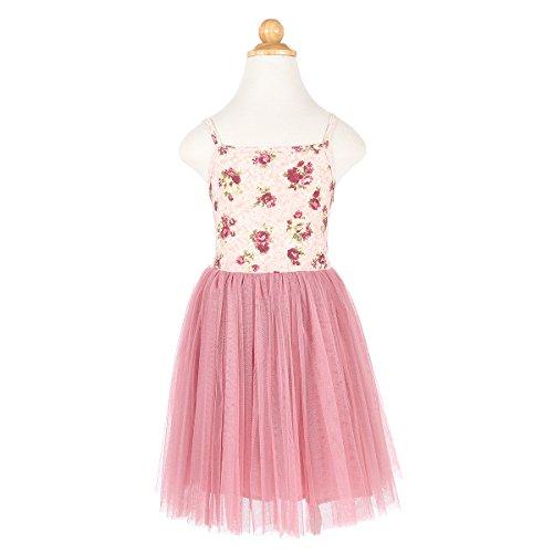 Floral Tulle (Flofallzique Baby Girls Dress Toddler Girls Clothes Vintage Floral Tulle Tutu Party Girls Dress (5))
