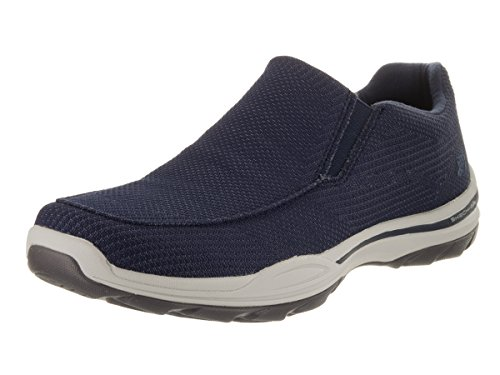 Skechers Usa Mens Borta Vengo Slip-on Loafer Flottan