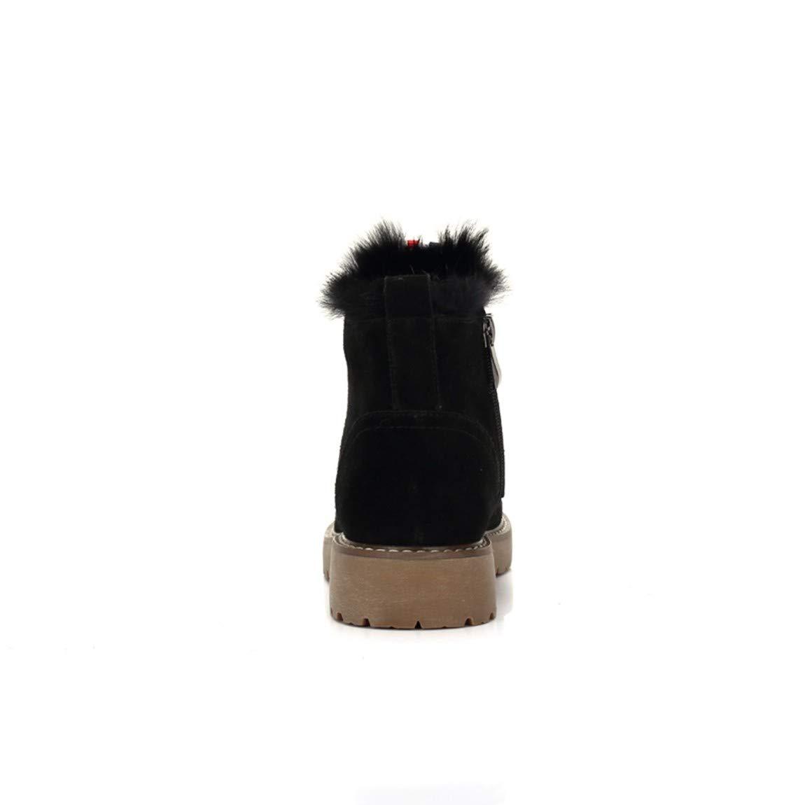 Cute girl Winter Trend Persönlichkeit Schöne Straße Straße Schöne Einfach Und Komfortabel Das Kurze Rohr Frauen Stiefel Schwarz ea95b0