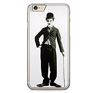 Charlie Chaplin iPhone 6 Plus Transparent Edge Case - Heroes