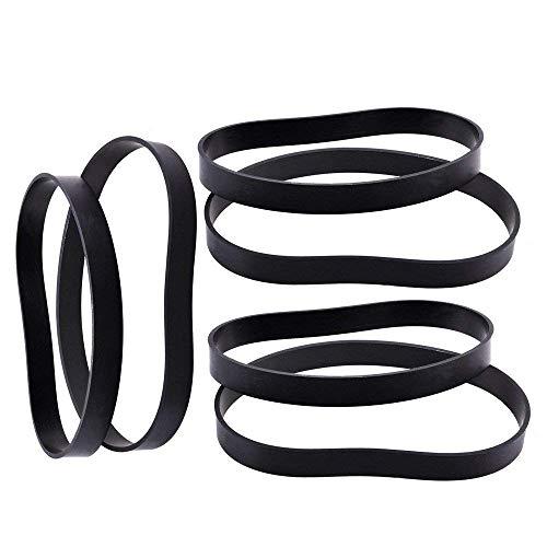 Fluar Vacuum Belt fit Bissel Style 7 9 10 12 14 16 Replacement 32074, 2031093, 3031120 (Pack of 6)