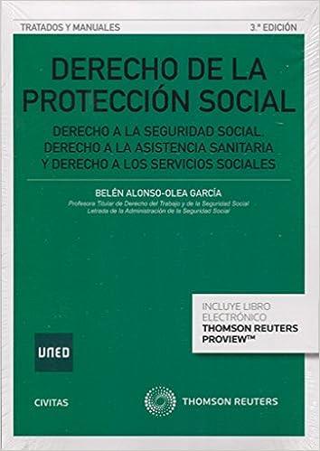 Derecho De La Protección Social (3 Ed. - 2016) por Belén Alonso García