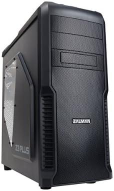 Zalman Z3 Plus Midi-Tower - Caja de ordenador de plástico y acero, ATX, Micro-ATX, Negro, 192 x 465 x 430 mm: Zalman ...