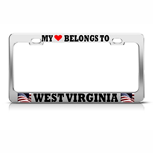 Moon My Heart Belongs to WEST Virginia License