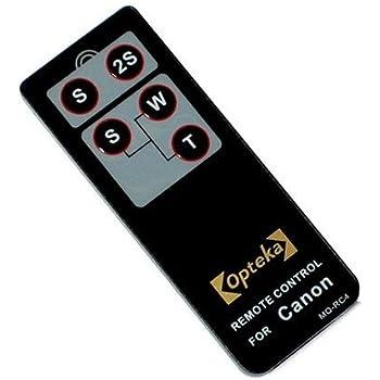 Amazon Com Opteka Rc 4 Wireless Remote Control For Canon