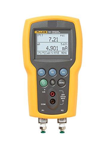 Fluke FLUKE-721-3630 Dual Sensor Pressure Calibrator, 36 PSIG, 3000 PSIG, 7.9'' x 4.3'' x 2.3''
