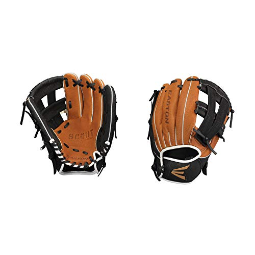 Easton Scout Flex Youth Series Baseball Glove, Right Hand Throw, 10