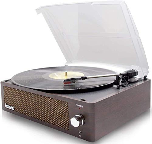 Lauson XN091 Platenspeler Codering PC-Link | Vintage Vinyl Platenspeler met Bluetooth en Ingebouwde Speakers Vinyl…