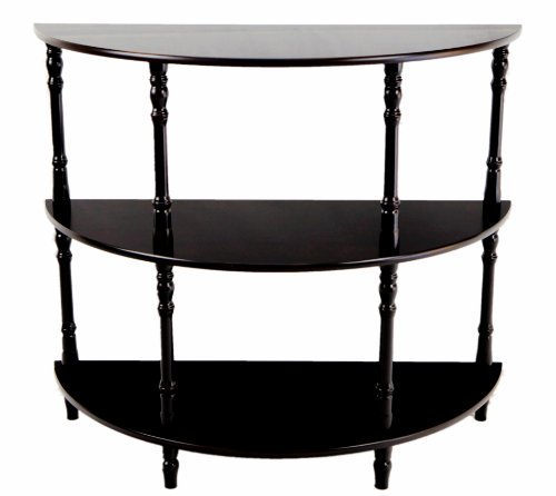 Frenchi Furniture Half Moon Console Table (Glass Moon Top Half)