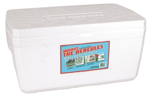 Lifoam 5345 Hercules Styrofoam Ice Chest, Huskee Collection, 45 quart