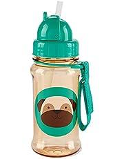 Skip hop, botella zoo con popote, pug