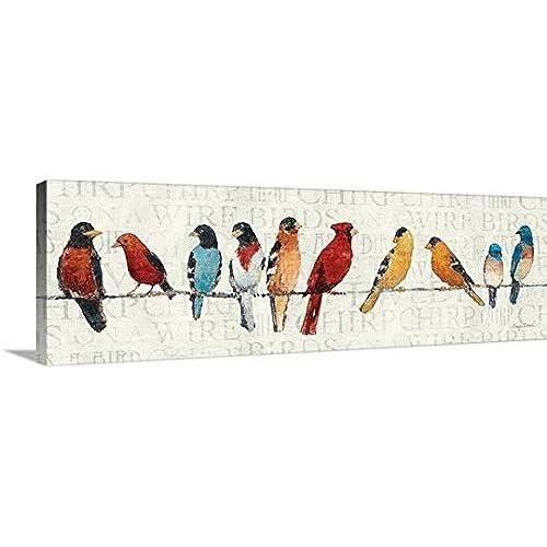Birds Canvas Wall Art: Amazon.com