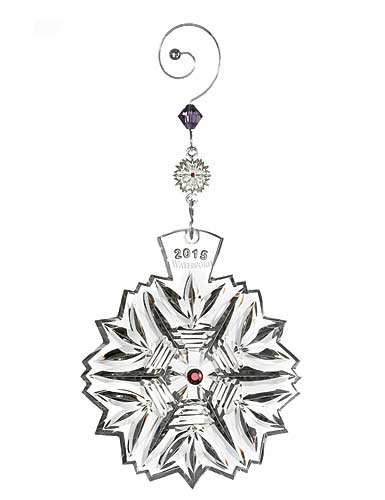 Waterford Crystal Snowflake Wishes 2015 Wishes for Health Ornament Waterford Snowflake Ornament