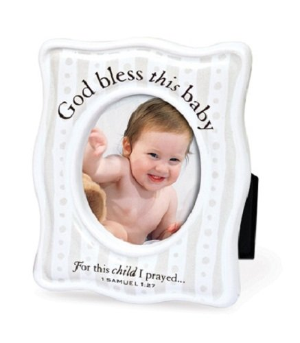 LCP Gifts For This Child I Prayed Photo Ornament Baby's First Christmas 12880