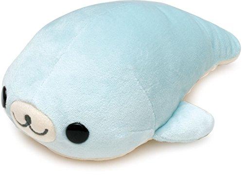 (San-x Mamegoma 8'' Plush Blue )
