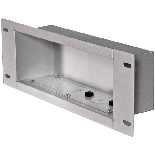 Medium In Wall Box - Peerless Iba3-W In-Wall Metal Box With Knock Out (Medium)