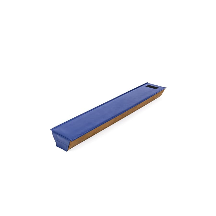 Best Choice Products 4ft Gymnastics Sectional Floor Balance Beam w/Velcro Attachments Tan