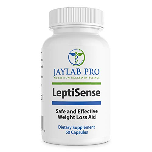 Jaylab Pro Leptisense Dietitian Formulated- Leptin Resistance Supplements Hormone Support Pills for Weightloss-Adrenal Response - Best Appetite Suppressant- Leptin Supplements for Weight Loss