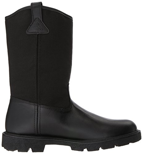 Rocky Men's Men's 10 Inch Pull-on 6300 Work Boot,Black,10.5 XW US by Rocky (Image #7)