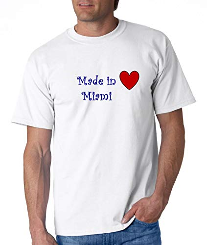 MADE IN MIAMI - City-series - White T-shirt - size XXL]()