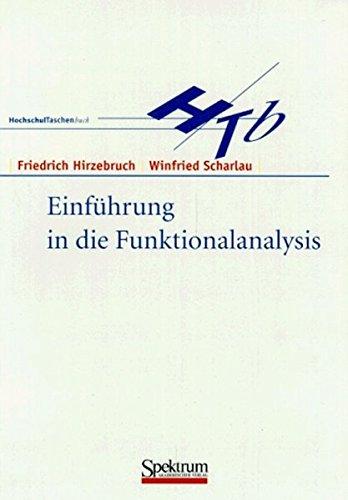 Einführung in Die Funktionalanalysis (German Edition)