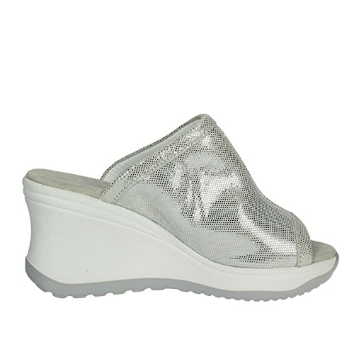 Agile 196 Argent Rucoline Mules A By Femme 6 xr87qxBwn