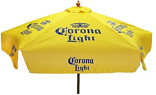 CORONA LIGHT BEER PATIO UMBRELLA MARKET STYLE NEW