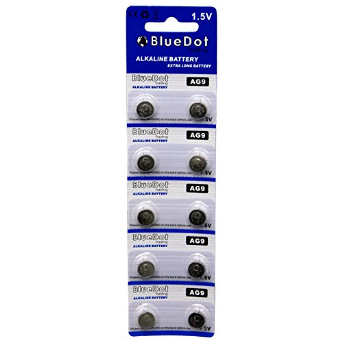 BlueDot Trading AG9 Batteries, 10 - Watch Battery Sr936sw